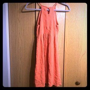 Cute orange summer/fall dress